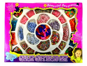 4776 kreativni sada koralku a gumicek