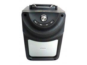 3520 2 nabijeci prenosny reproduktor radio bluetooth usb microsd 300 mm x 180 mm x 200 mm