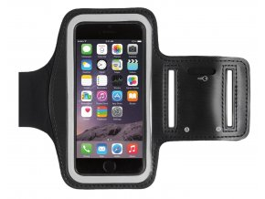 261 mobilni fitness pouzdro na ruku cerna