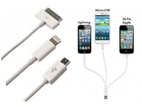 114 univerzalni usb kabel 3v1 iphone ipad euro do auta zasuvky