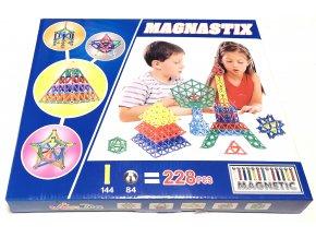 5703 magneticka stavebnice magnastix 228 dilu