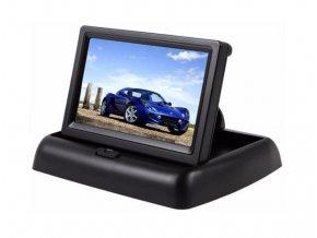 5454 skloppny lcd monitor do auta s 10 9cm uhloprickou obrazovky 2 video vstupy lcd 4 3 gx01467