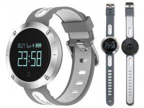 chytre hodinky billow xs30gw 0 95 oled 120 mah bluetooth 4 0 bily stribro kopie
