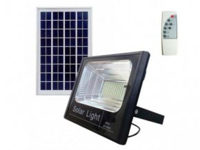 5496 venkovni led reflektor 60w se solarnim panelem a dalkovym ovladacem led flood 60w solar