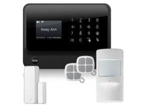 3849 7 wifi bezdratovy a dratovy domovni gsm alarm s klavesnici