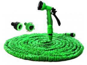 6597 2 smrstovaci zahradni flexi hadice zelena 15 m