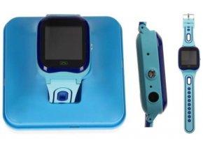 8456 6 detske hodinky sim s kamerou gps modra