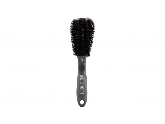 juice lubes double ender two prong brush