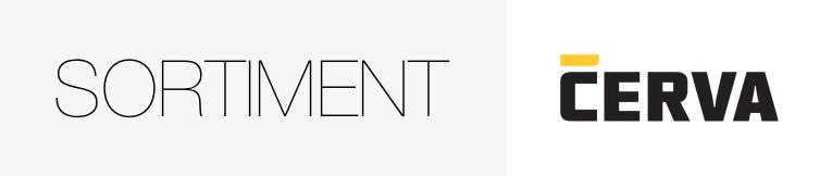 Cerva | komplet | novinky | slevy | akce