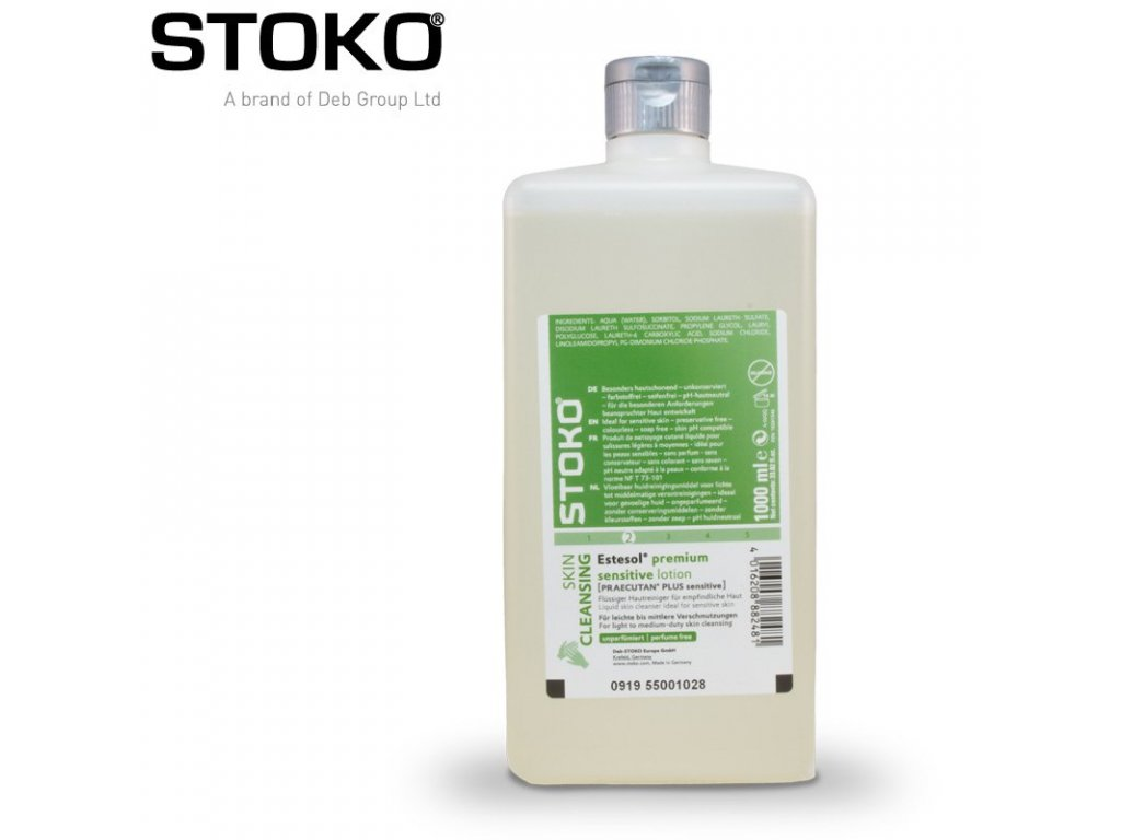 stoko estesol premium sensitive lotion 1l