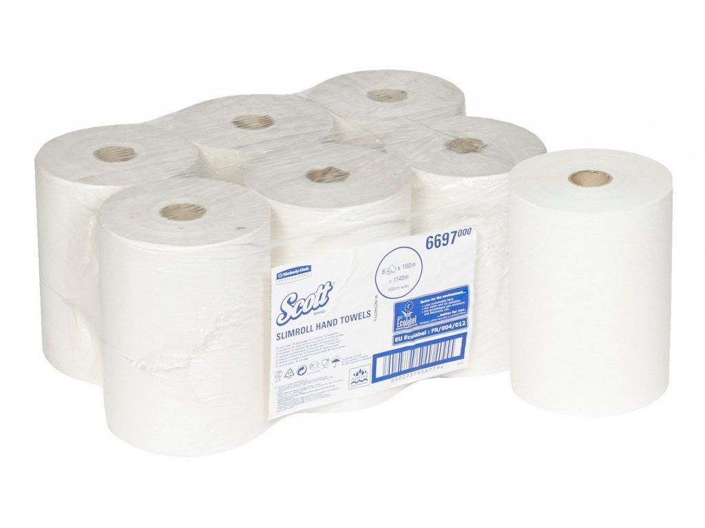 Kimberly Clark Scott Slimroll ručníky 6697