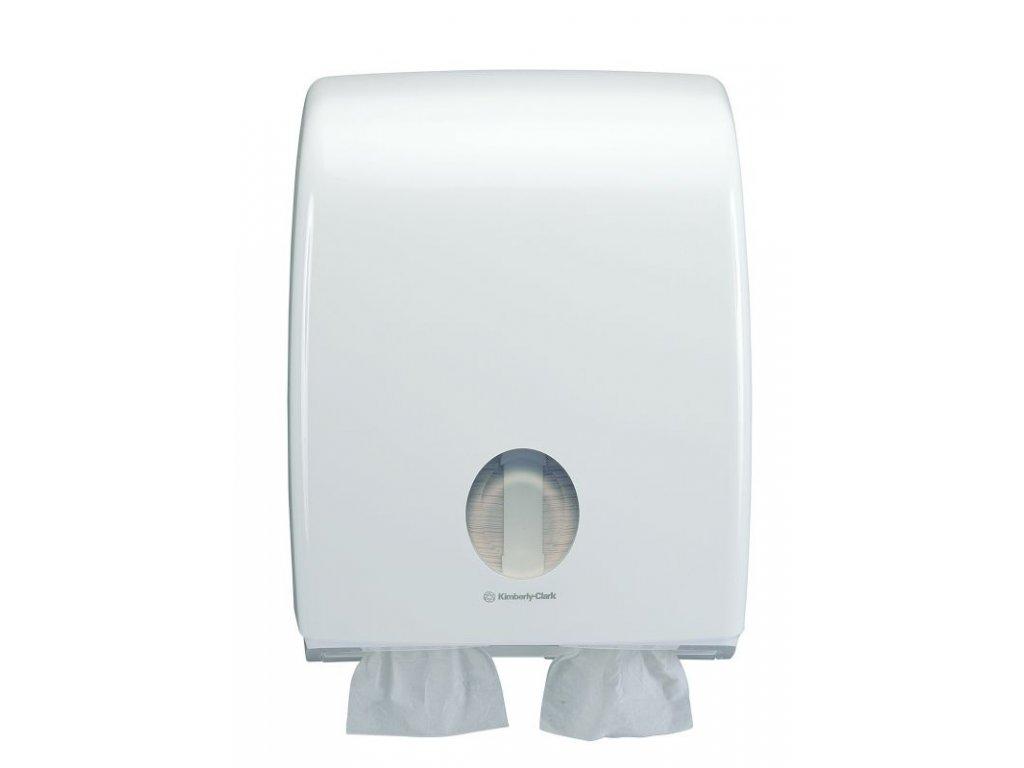 Kimberly-Clark Aquarius velkokapacitní dávkovač na skládaný toaletní papír, 6990
