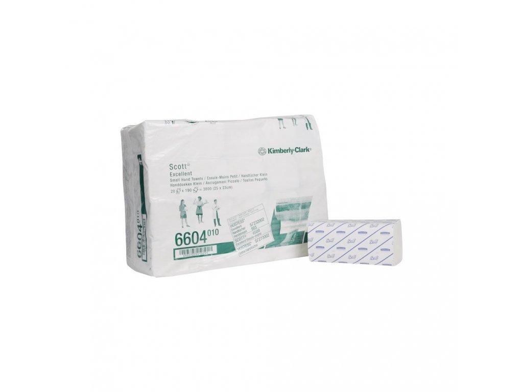 Kimberly-Clark 6604 Scott Excellent papírové ručníky skládané malé