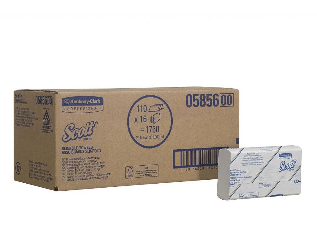 Kimberly-Clark SCOTT Slimfold ručníky