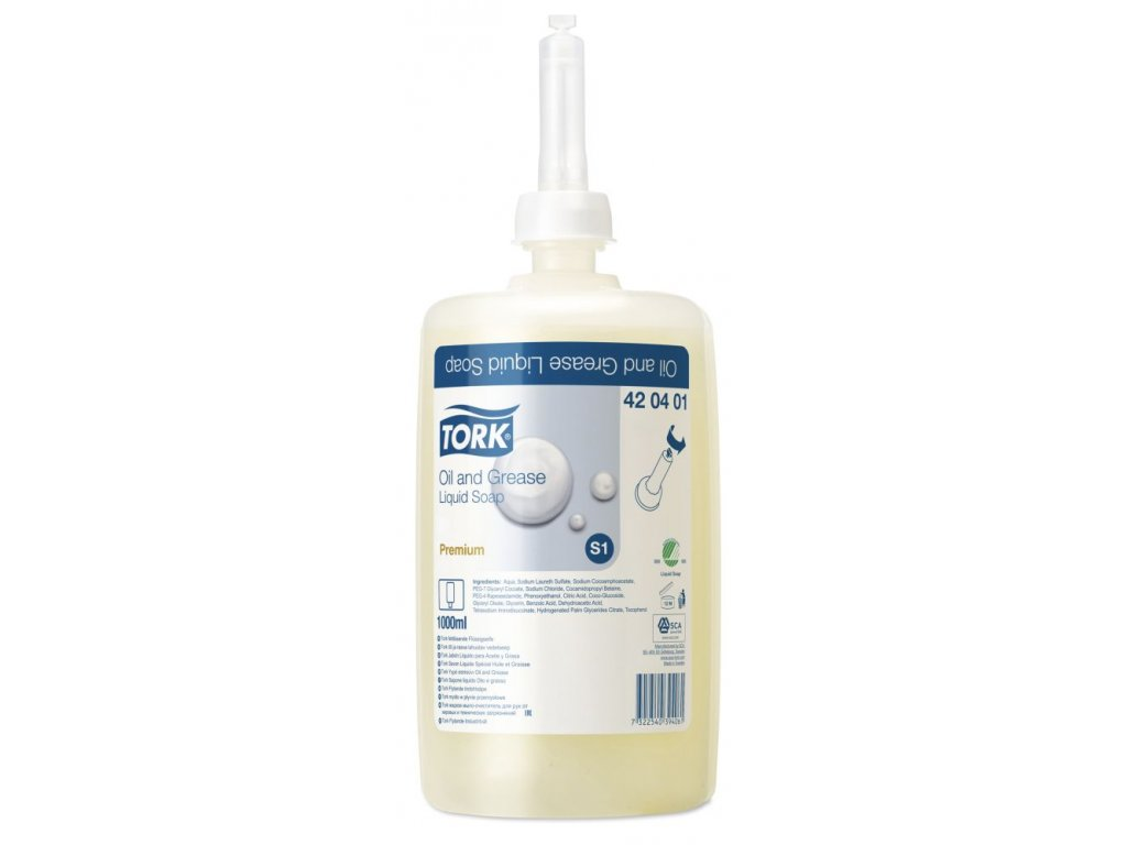 Tork průmyslové tekuté mýdlo(bez parfémů a barviv)