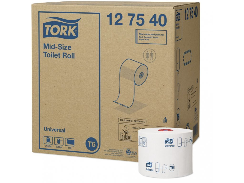 Tork MID-Size toaletní papír(4)