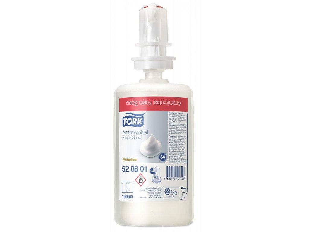 Tork antimikrobiální pěnové mýdlo (3)