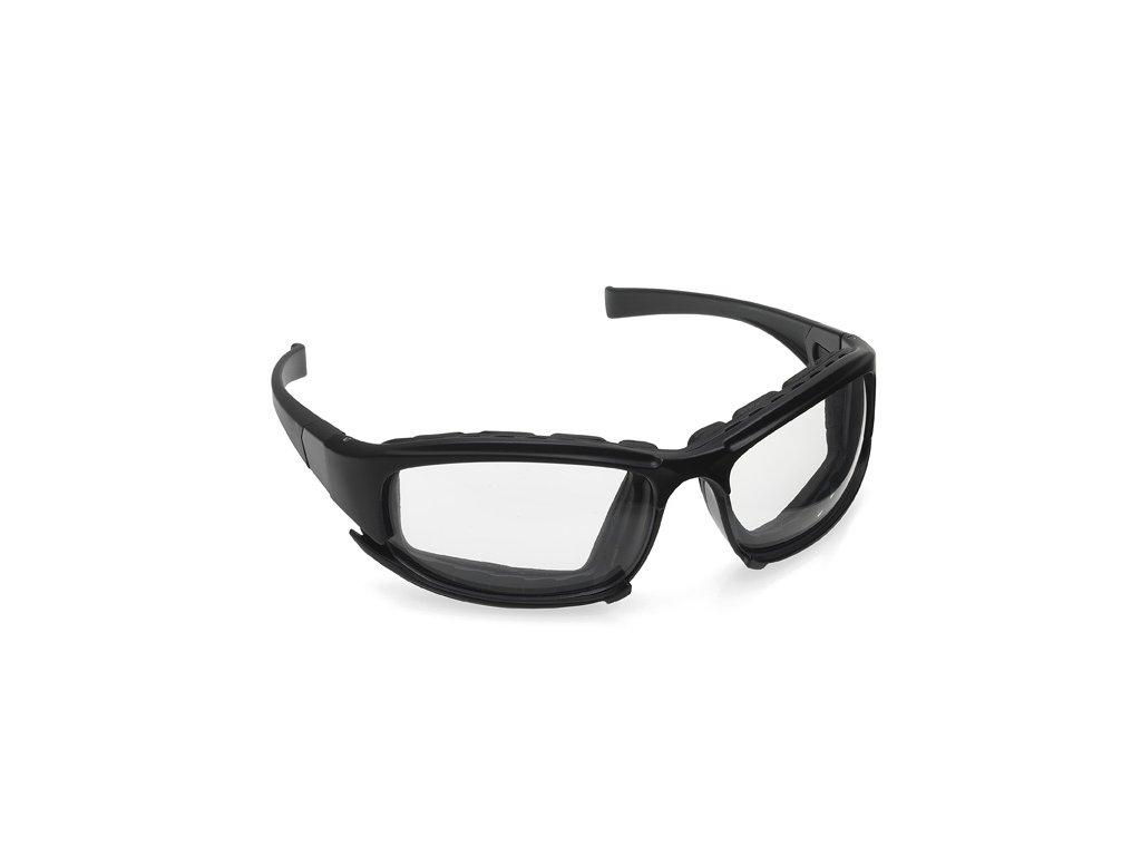 Kimberly-Clark Jackson Safety V50 - čiré uzavřené ochranné brýle proti zamlžení