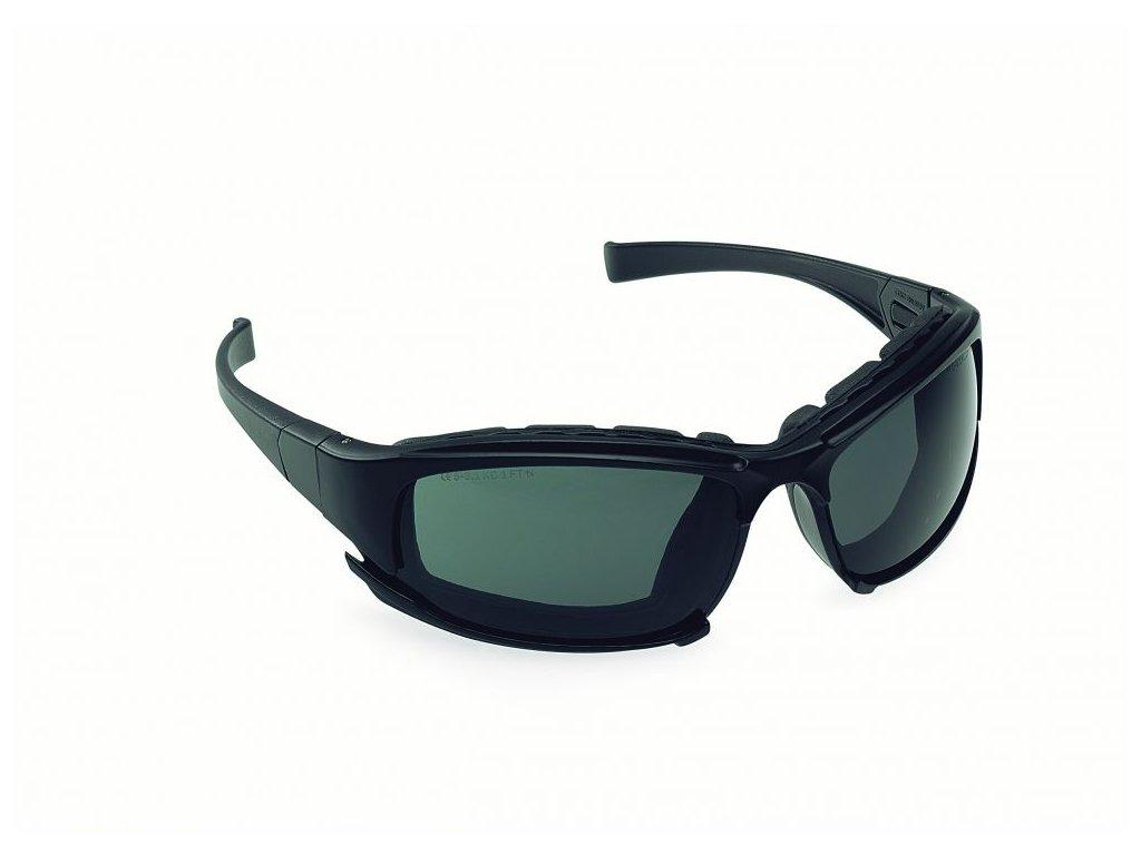 JACKSON SAFETY* V50 uzavřené ochranné brýle- kouřové