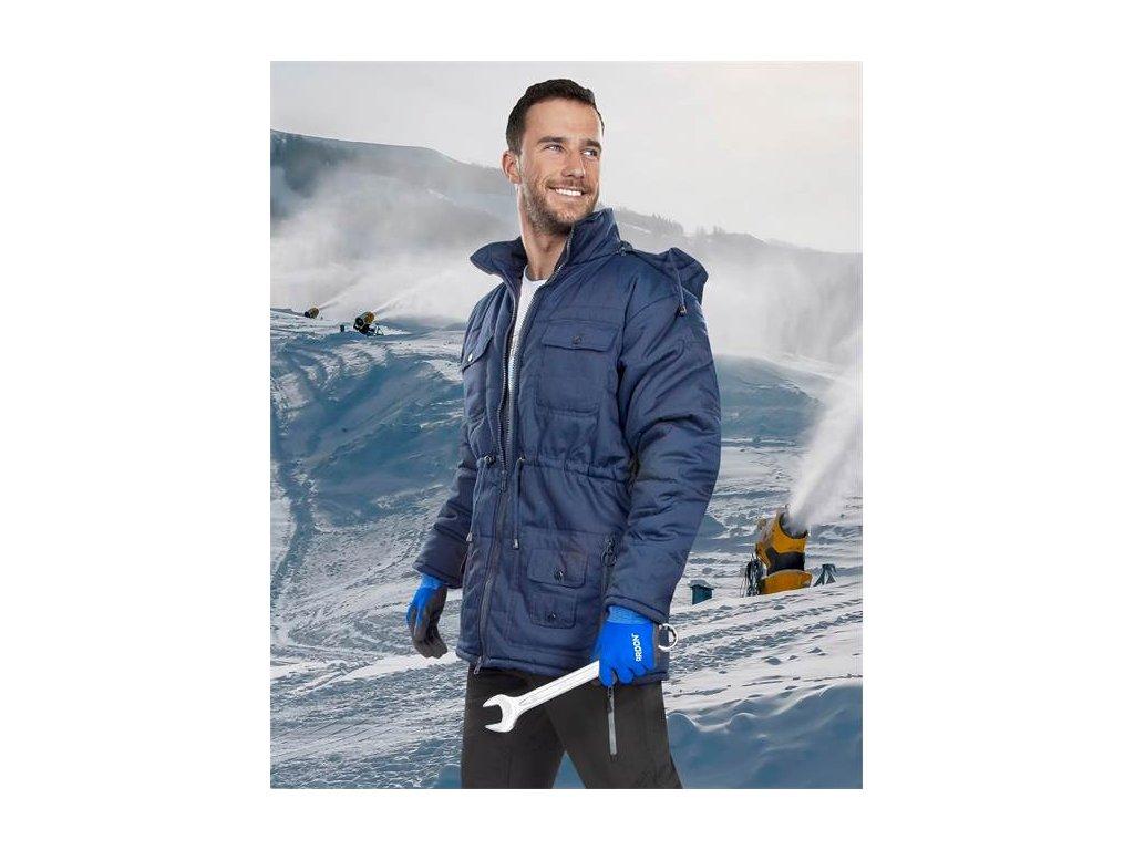SERENA zimní bunda modrá