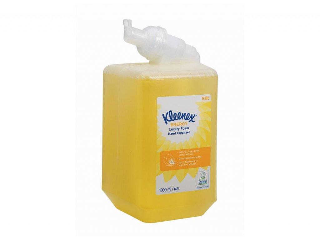 Kleenex Energy luxusní pěnové mýdlo na ruce, 6385