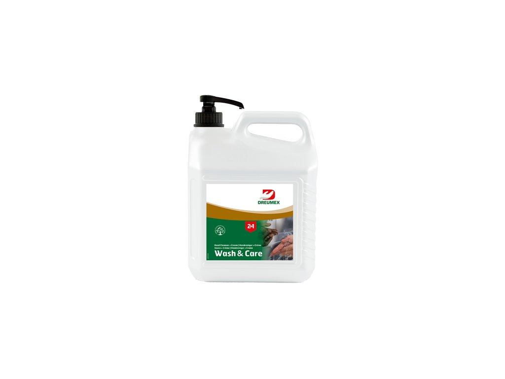 Dreumex Wash&Care 2in1, 3L mycí pasta na ruce s krémem s pumpou