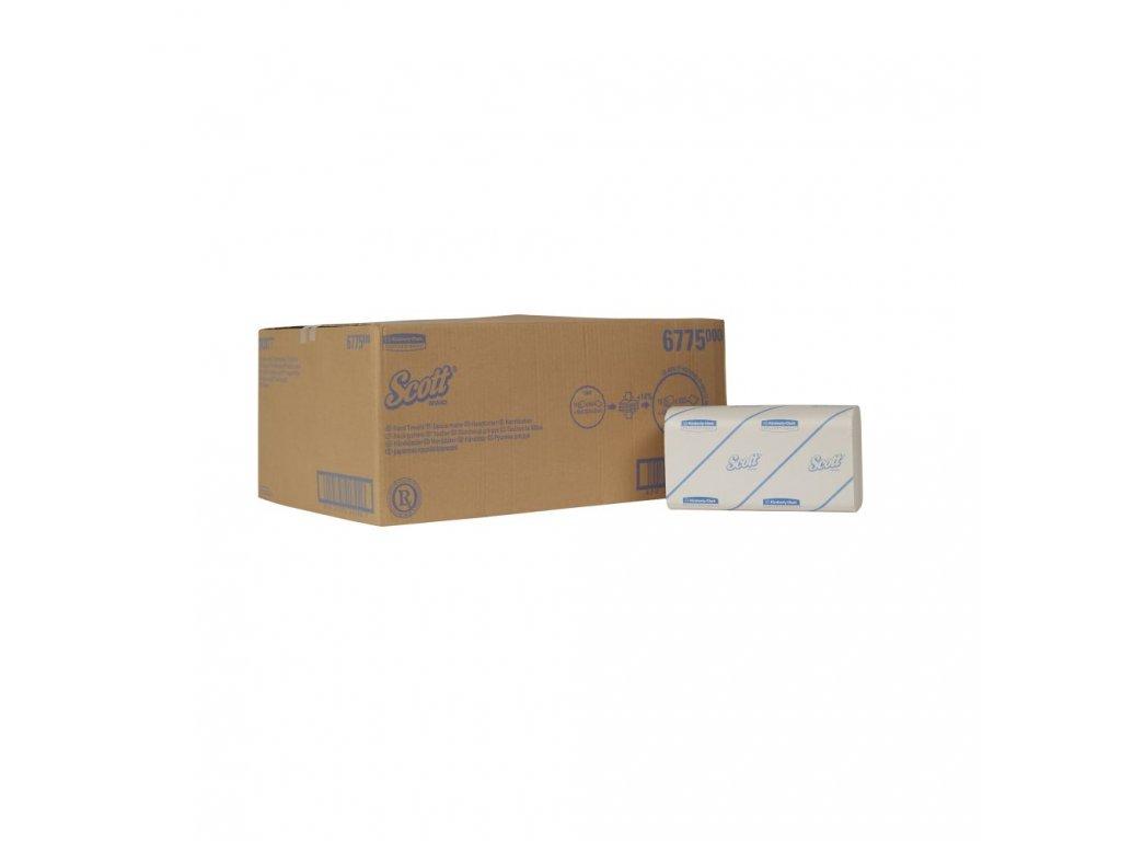 Kimberly-Clark Scott papírové ručníky skládané malé, 6775