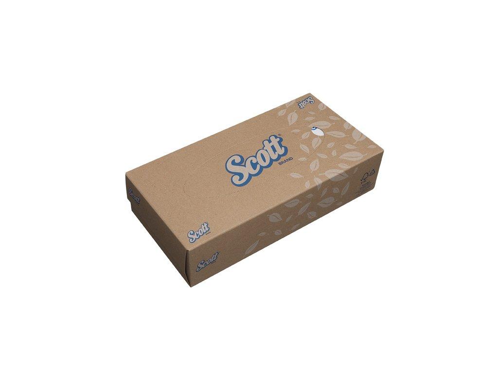 Kimberly-Clark SCOTT kosmetické kapesníčky, stadardní