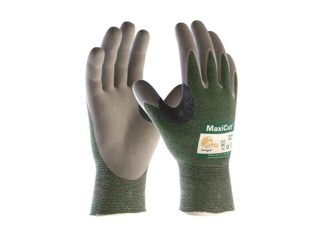 rukavice maxicut atg zelene