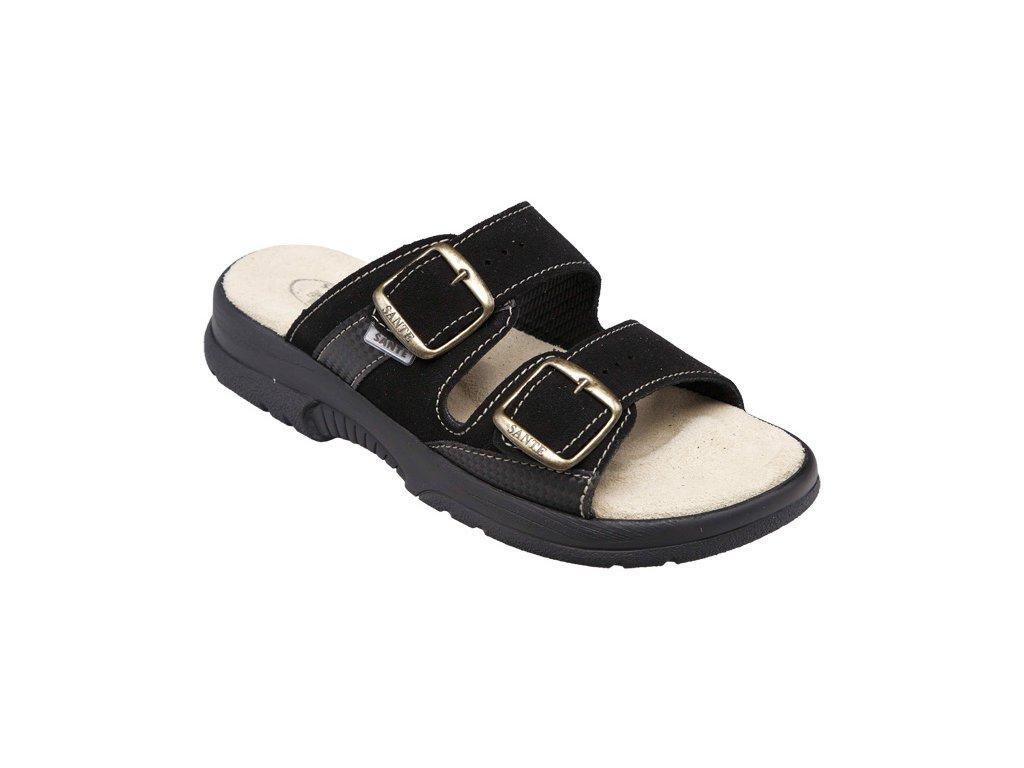 Santé N/517/33/68/CP Dámský pantofel černá (Velikost 41)