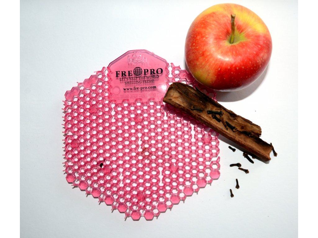FRE PRO sítko oboustranné WAWE 3D do pisoáru vůně jablko