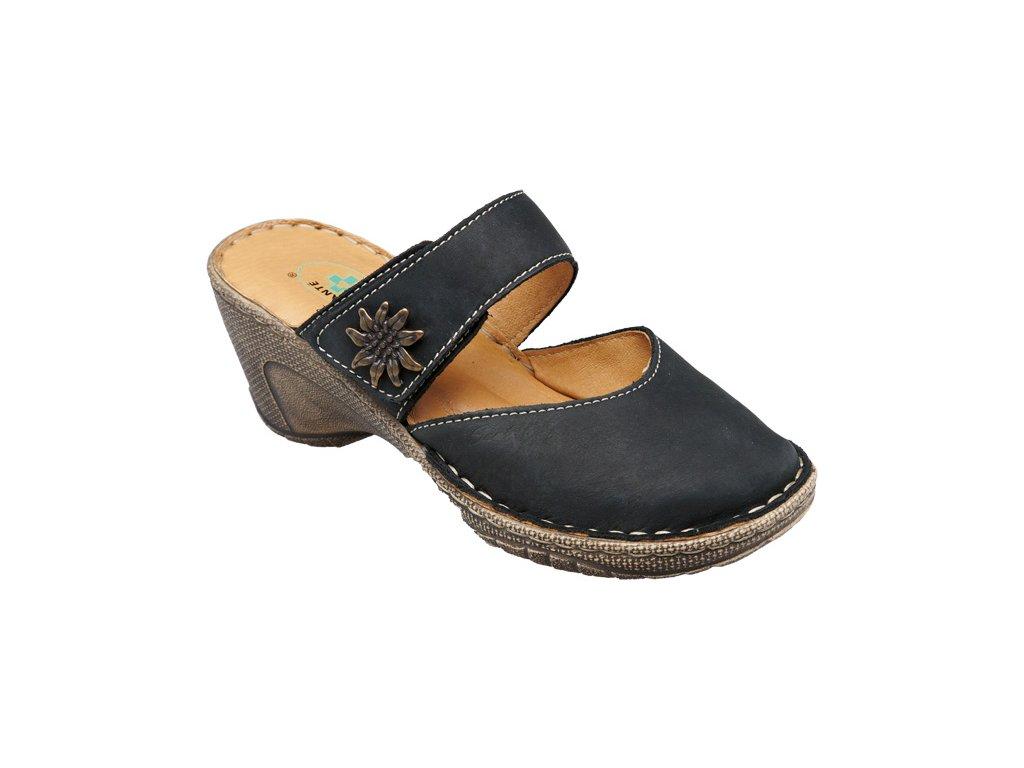 Santé N/309/1/60 Dámský pantofel černá (Velikost 42)