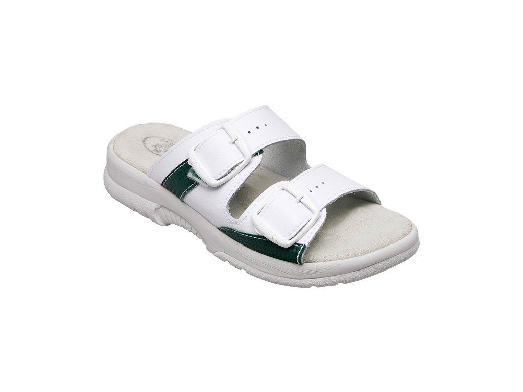 N 517 33-35 10 Unisex pantofel bílý vel.36-47 - ŽLUTÝ OBCHOD d3b6007135
