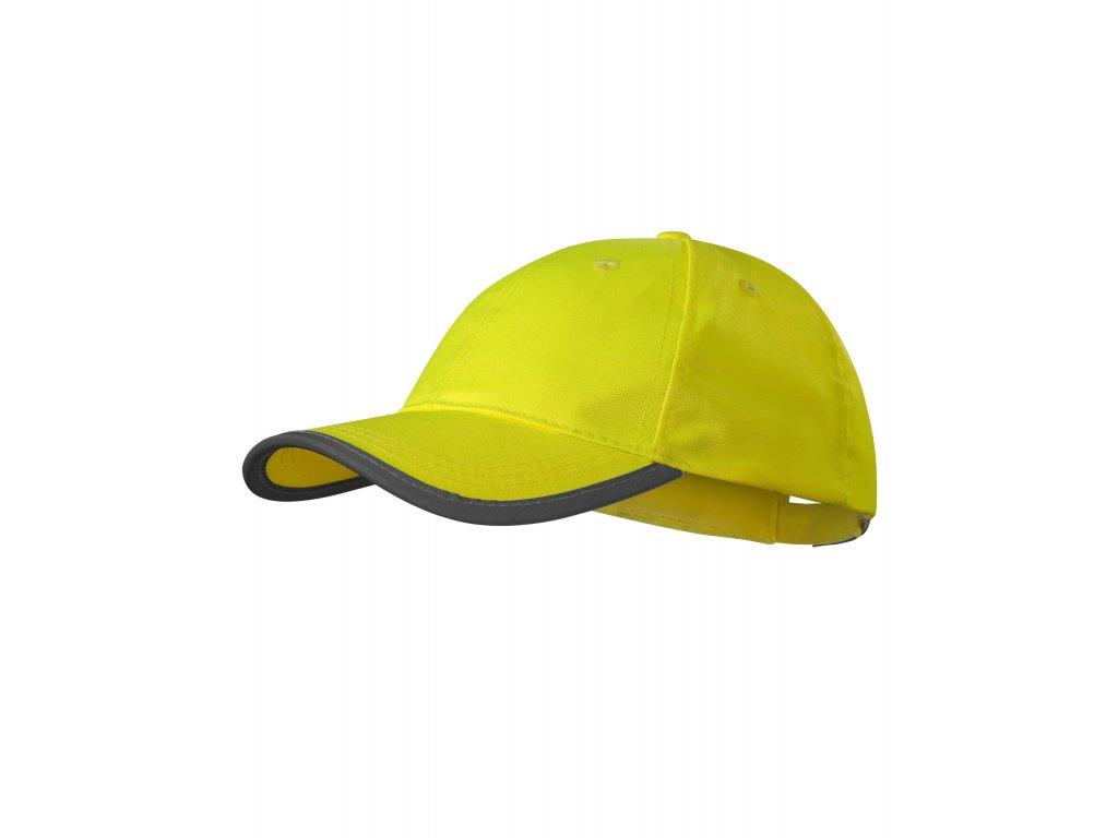 HV Reflex čepice unisex reflexní žlutá uni - ŽLUTÝ OBCHOD 3eb1b46038