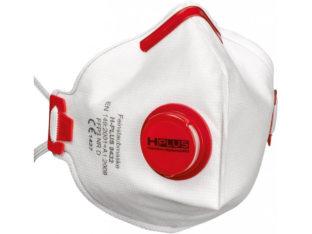 respirator ffp3 skladany