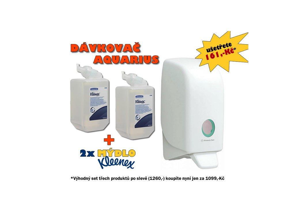 3.1.Kleenex dezinfekcni a davkovac1L