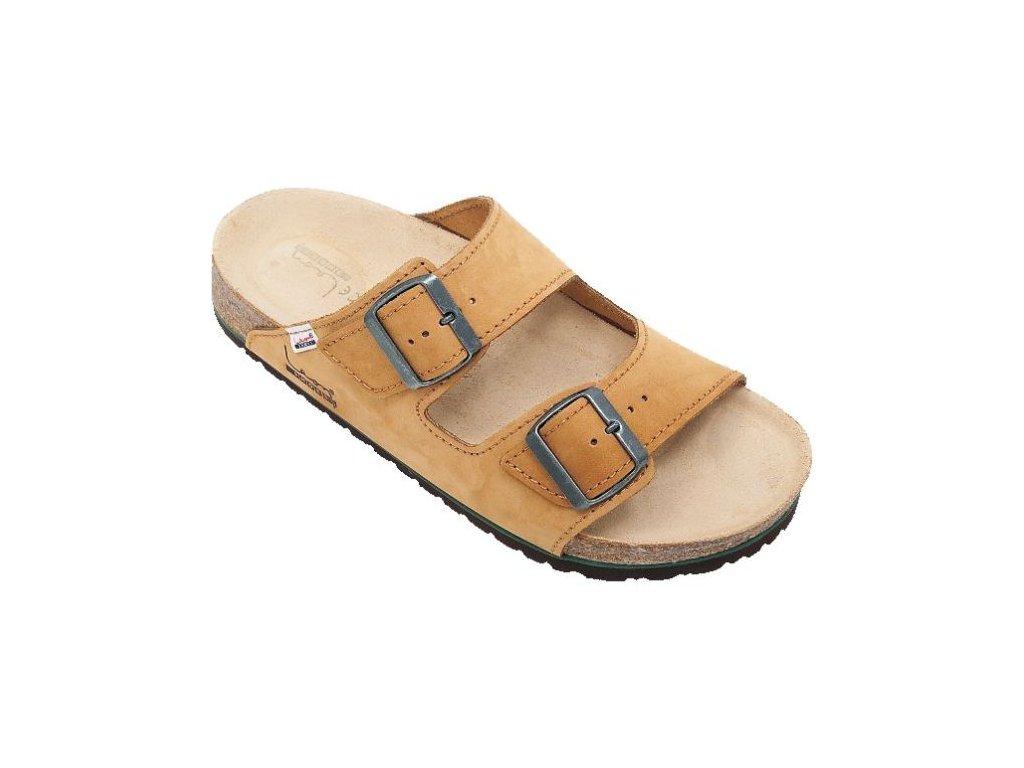 Zdravotní obuv Leon Atys světle hnědé (Velikost 41)