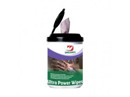 DREUMEX čistící ubrousky na ruce 90 ks