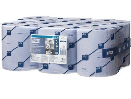 Tork Reflex papírová utěrka Plus- Modrá