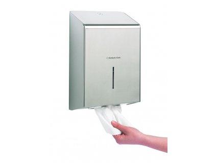 Kimberly-Clark Professional zásobník na papírové ručníky z nerezu, 8971
