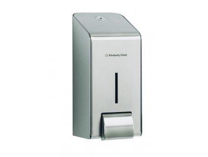 KIMBERLY-CLARK PROFESSIONAL* Zásobník na tekuté mýdlo Nerez - jednolitrová kazeta(11)