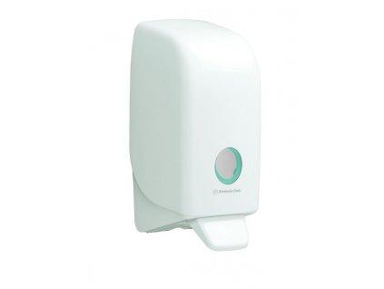 Kimberly-Clark Aquarius bílý dávkovač na 1L mýdla a dezinfekční prostředky