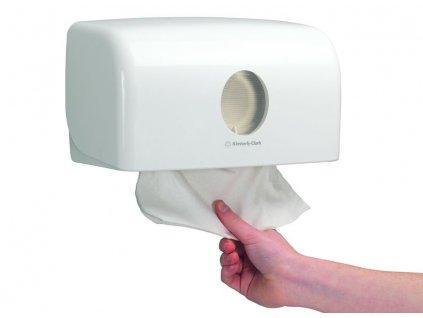 Kimberly-Clark Aquarius zásobník na skládané papírové ručníky, 6956