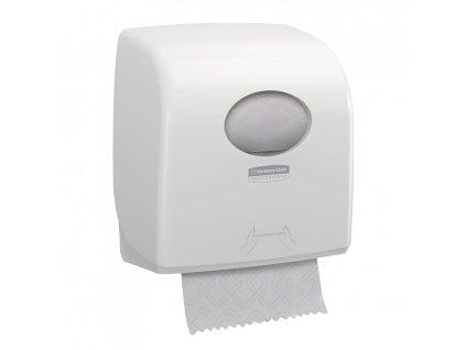 Kimberly-Clark Aquarius bílý dávkovač na papírové ručníky v roli, 7955