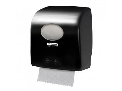 Kimberly-Clark Aquarius Slimroll černý dávkovač na papírové ručníky v roli, 7956