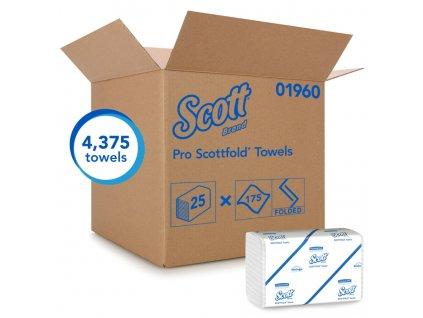 Kimberly-Clark SCOTT SCOTTFOLD ručníky - střední