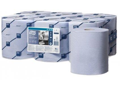 Tork Reflex papírová utěrka(Modrá)