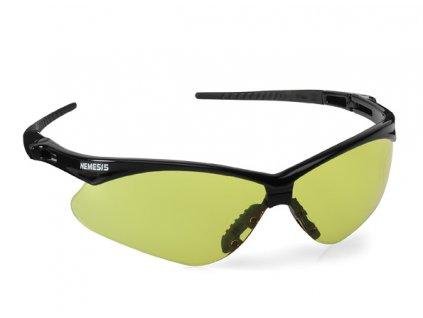 Jackson Safety V30 Nemesis Ochranné brýle - Amber žlutá skla