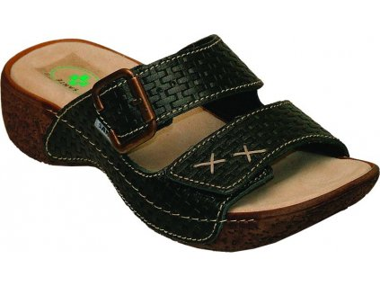 Santé N/109/06 Dámský vycházkový sandál černá (Velikost 41)