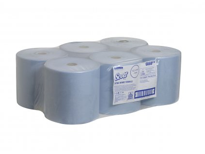 Kimberly-Clark SCOTT ručníky, modré